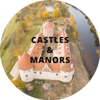 Zemgale castles manors